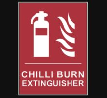 Chilli Burn Fire Extinguisher Funny Spicy Curry One Piece - Short Sleeve