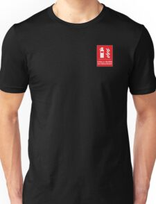 Chilli Burn Fire Extinguisher Funny Spicy Curry Unisex T-Shirt