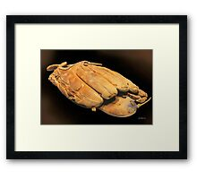South Paw Framed Print