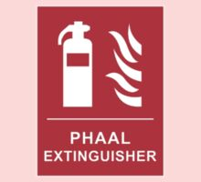 Funny Hot Spicy Curry Phaal Fire Extinguisher Joke Kids Tee