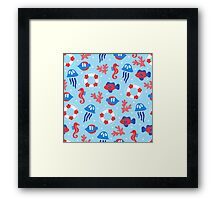 Summer Sea Framed Print