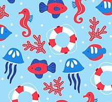 Summer Sea by veverka