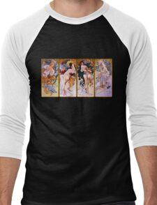 Mucha Men's Baseball ¾ T-Shirt
