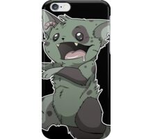 Zombie Kitty iPhone Case/Skin