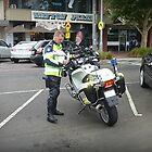 Motor Cycle Policeman in Werribee Vic- Australia by EdsMum