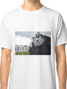 Beautiful Steam Engine Train  Classic T-Shirt