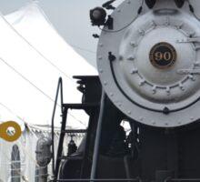 Beautiful Steam Engine Train  Sticker