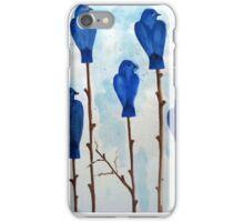 Blu Bird iPhone Case/Skin