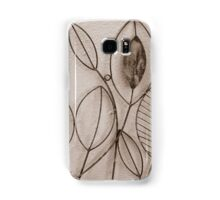 Wire Leaves in Sepia Samsung Galaxy Case/Skin