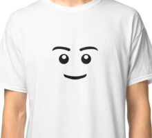 Brick Man Smiley Face Classic T-Shirt