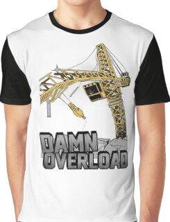 Tower Crane Incident Graphic T-Shirt