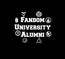 Fandom University by rxdshtclothing