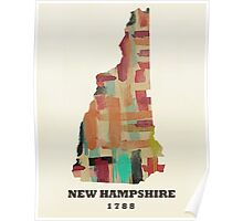 new hampshire state map Poster