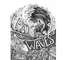 Eat Waves Photographic Print