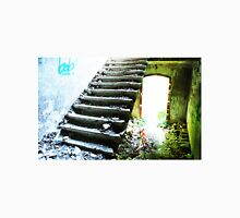 Staircase in a dilapidated Clinic Unisex T-Shirt