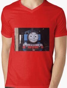 Thomas the Kids Train Mens V-Neck T-Shirt