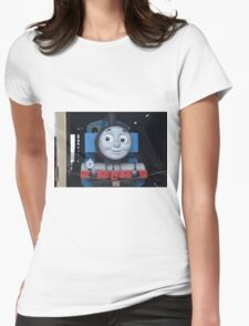 Thomas the Kids Train Womens Fitted T-Shirt