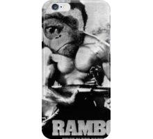 Rambo. iPhone Case/Skin