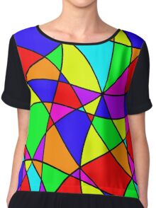 Colorful abstraction Chiffon Top