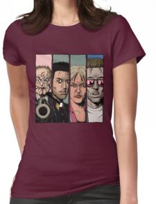 Preacher :Arseface, Jesse, Tulip and Cassidy Womens Fitted T-Shirt