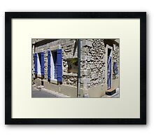 Provence Country Home Framed Print