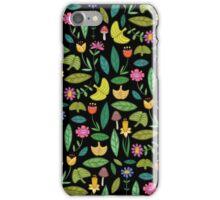 Flower Patch Dark iPhone Case/Skin