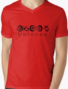 Unfound Mens V-Neck T-Shirt