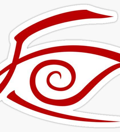 Crimson Eye Sticker