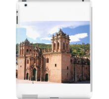 CUSCO BASILICA CATHEDRAL IN PERU iPad Case/Skin