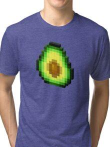 Pixel Avocado Tri-blend T-Shirt