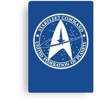 Star Trek - United Federation of Planets - logo Canvas Print