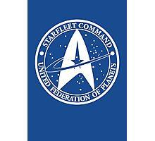 Star Trek - United Federation of Planets - logo Photographic Print