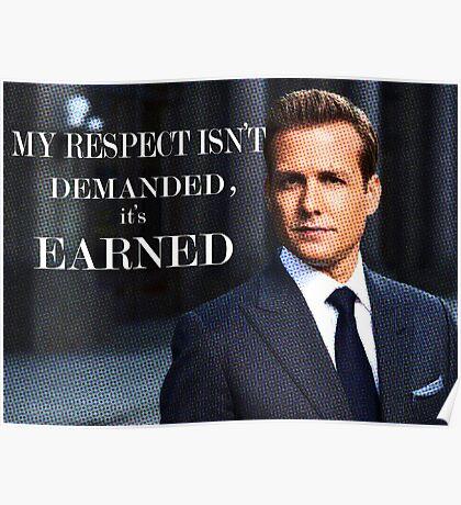 Harvey Specter - Suits Poster