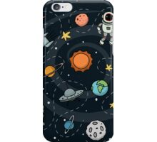 Outer Space Planetary Illustration iPhone Case/Skin
