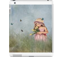 Carrying Tulips for You iPad Case/Skin