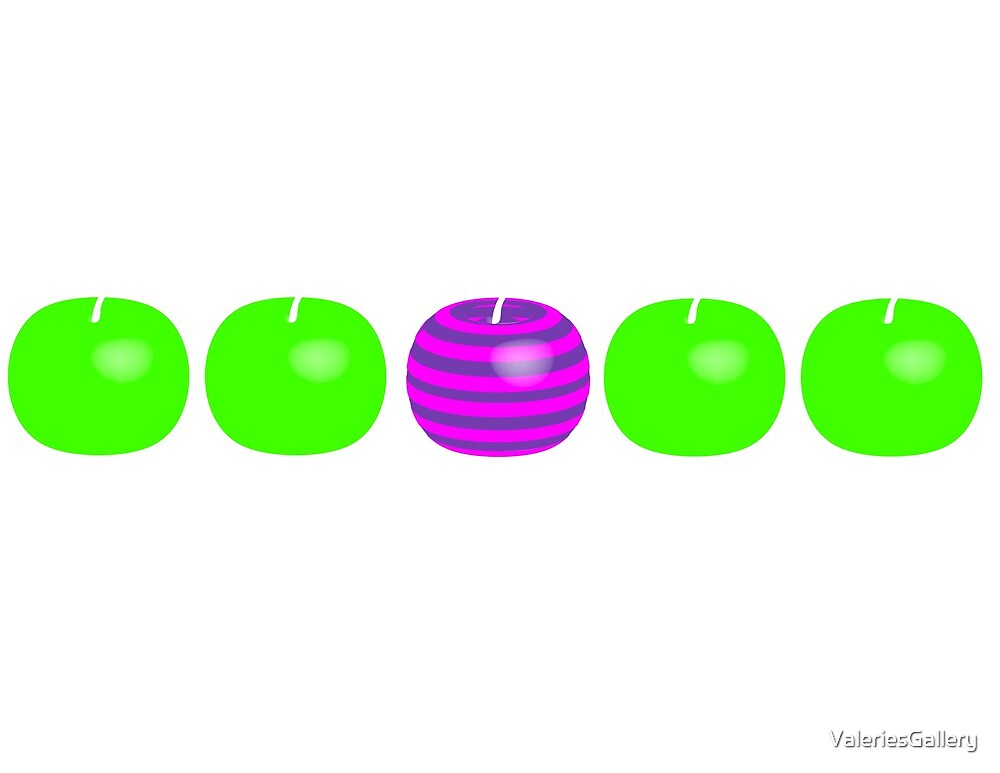 Different Apple by ValeriesGallery