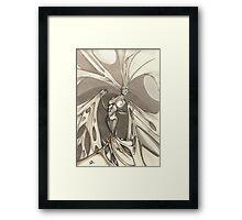 Gothic Demon Asphyxiation Framed Print