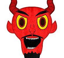 Devil Face by GrimDork