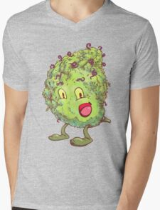 Buddy the Bud Mens V-Neck T-Shirt