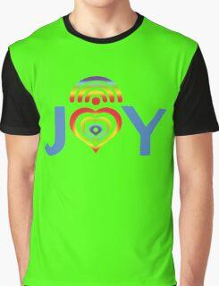 JOY RAINBOW  Graphic T-Shirt