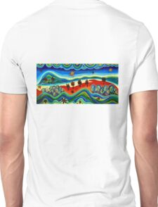 Our World in Acrylic Unisex T-Shirt