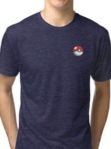 pokeball badge Tri-blend T-Shirt
