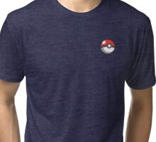 pokeball badge Tri-blend T-Shirt