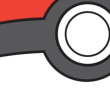 pokeball badge Sticker