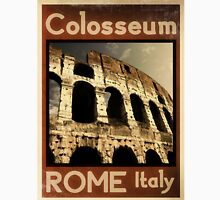 Rome Italy vintage poster Unisex T-Shirt