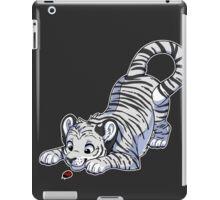 Little White Tiger iPad Case/Skin