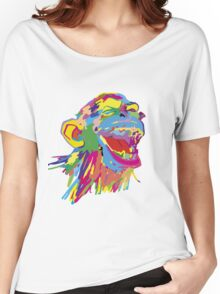 Laughing Ape – Multicoloured Women's Relaxed Fit T-Shirt