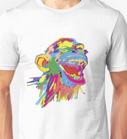 Laughing Ape – Multicoloured Unisex T-Shirt