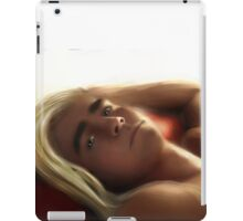Thranduil being seductive iPad Case/Skin