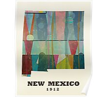 new mexico state map Poster
